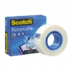 LĪMLENTE SCOTCH REMOVABLE TAPE 811 19mm x 33m (3M11269)