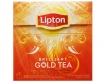 MELNĀ TĒJA LIPTON PYRAMID BRILLIANT GOLD TEA - THE GOLDEN TOUCH, MAISIŅOS (784835)