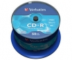 KOMPAKTDISKS VERBATIM CD-R 700Mb/80min 52x Extra Protection 50 pack (VER43351)