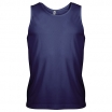 T-KREKLS KARIBAN PROACT MENS SPORTS VEST NAVY XL (140 g/m2)