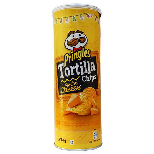 Čipsi pringles tortilla nacho cheese (113699)