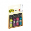 PAŠLĪPOŠIE INDEKSI POST-IT 12x44mm 4 KRĀSAS (3M683-4)