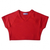T-KREKLS RED B&C REMEMBER/WOMEN (220 g/m2)