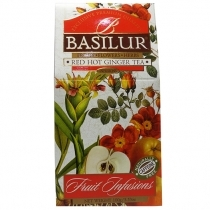 AUGĻU TĒJA BASILUR FRUIT INFUSION RED HOT GINGER, BERAMĀ (923881)